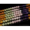 Бусины из самоцветов шарик огранка 10мм, 40см, 40 бусин