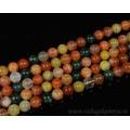 Бусины из самоцветов шарик 10мм, 40см, 40 бусин.