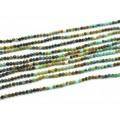 Бусины из хризоколлы шарик гр.2мм, 38см, 166 бусин