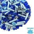 Бисер TOHO Beads Mix, цвет 05 Blue3, 10 грамм/упаковка
