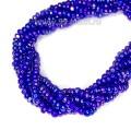 Бисер Sharlotte граненый, ирис синий, арт. 59135, 13 размер, около 30 см/нить, 3 нити/упаковка, (около 3 гр.), Чехия
