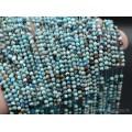 Бусины из хризоколлы шарик гр.3,2мм, 38см, 115 бусин