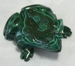 Сувенир (лягушка) из малахита